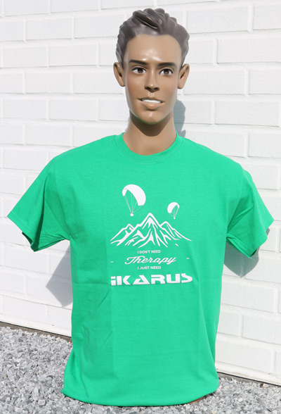 IKARUS T-shirt model 03 te verkrijgen bij ikarus.be!