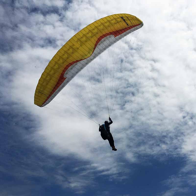 De beginnerstage, de eerste keer ECHT vliegen!