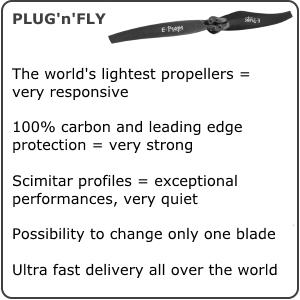 E-PROPS carbon propeller voor (para)motor Vittorazi Moster185, ... te verkrijgen bij ikarus.be!