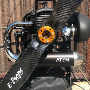 E-PROPS carbon propeller voor (para)motor Vittorazi ATOM80, ... te verkrijgen bij ikarus.be!