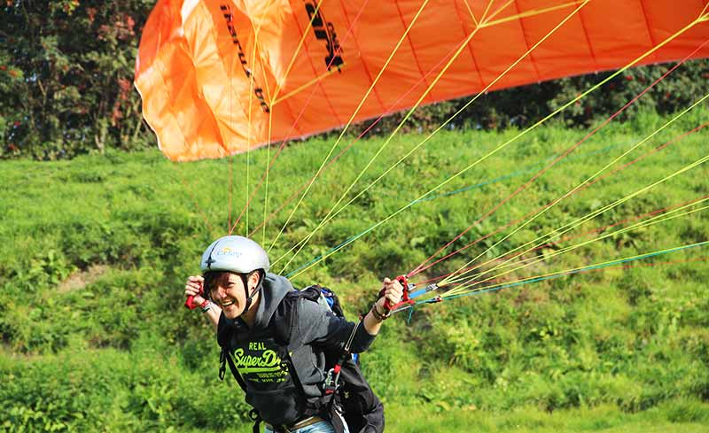 Initiatiedag parapente of paramotor bij ikarus.be