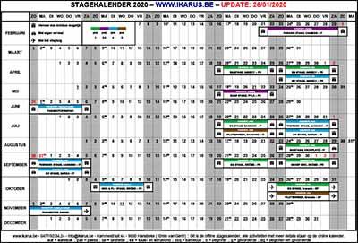Kalender van ikarus.be!