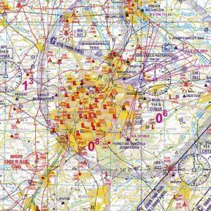 De luchtvaartkaart LowAir voor parapente en paramotor van België te verkrijgen bij ikarus.be!