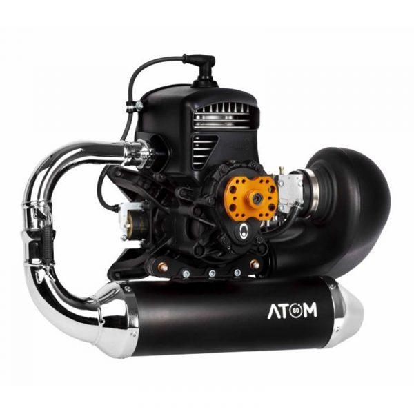 MACFLY Atom80 paramotor, te verkrijgen bij ikarus.be!