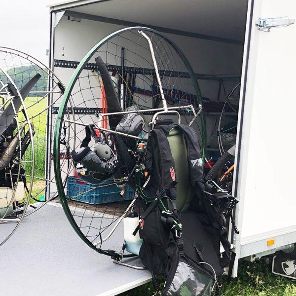 PXP Paramotor - kooi en harnas