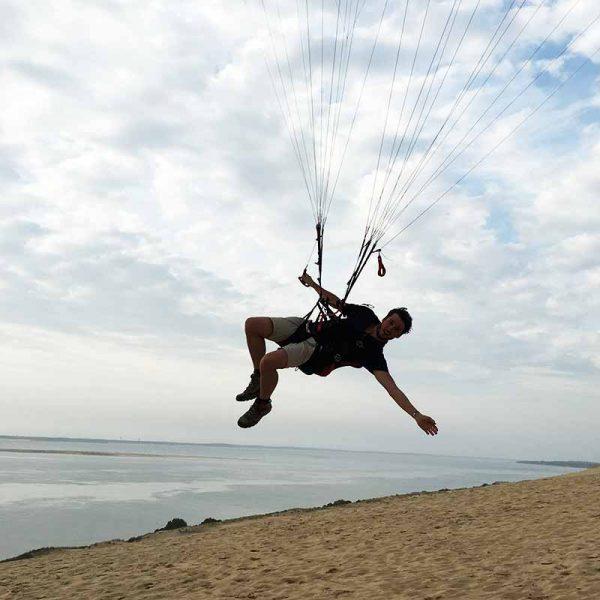 De soarstage - nieuwe technieken in veel wind met ikarus.be!