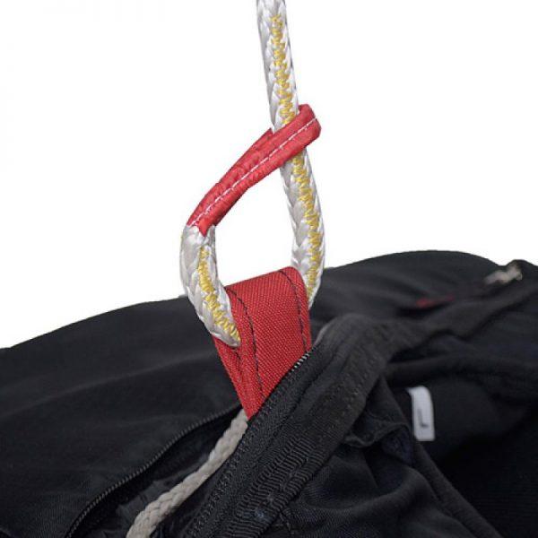 """""""Light"""" dyneema risers voor de verbinding van uw harnas met uw noodparachute"""